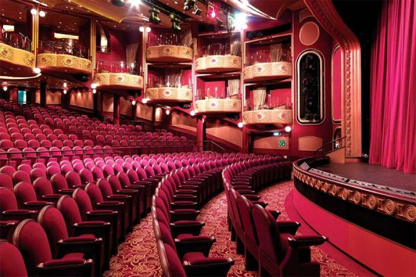 Cunard Queen Victoria Royal Court Theatre