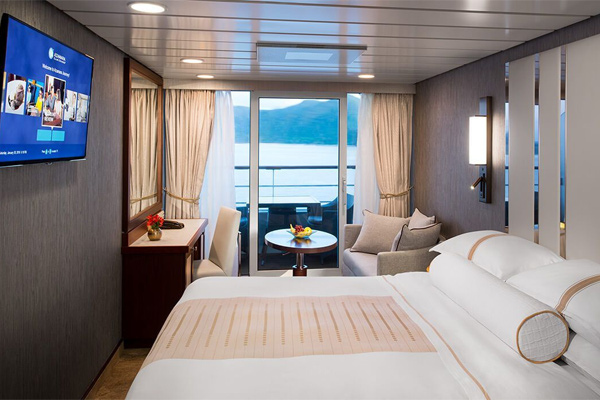 Azamara Club Cruises Azamara Pursuit Balcony Stateroom