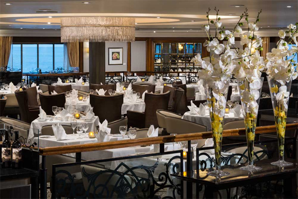 Azamara Club Cruises Azamara Pursuit Discoveries Main Dining Restaurant