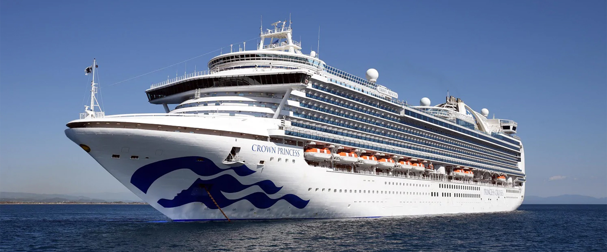 Crown Princess Cruises from Southampton